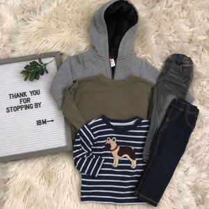 Other - 18 M Shirt Jeans and Sweater Bundle